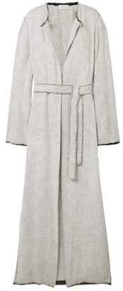The Row Paycen Belted Tweed Coat