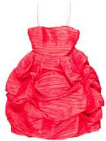 Oscar de la Renta Draped Mini Dress