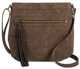 T-Shirt & Jeans Women's Crossbody Handbag with Tassel