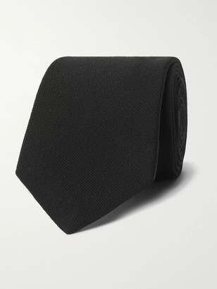 Gucci 7.5cm Logo-Embroidered Wool And Silk-Blend Twill Tie