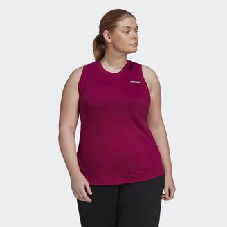 adidas Designed to Move Sleeveless Tank Top (Plus Size)