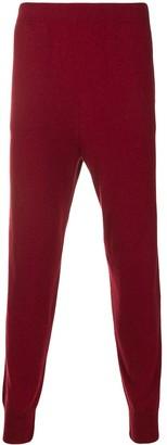 Jil Sander Fine Knit Track Trousers