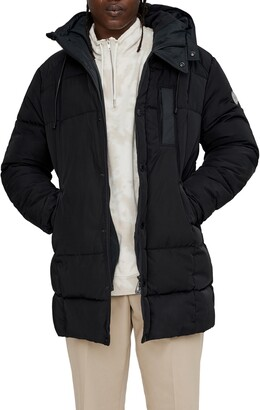 Noize Long Quilted Parka