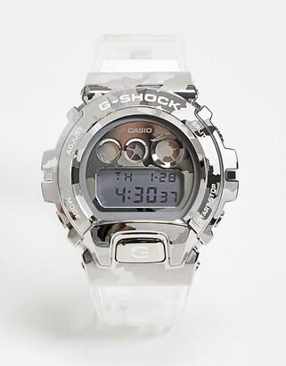 Casio G-Shock unisex digital watch in clear GM-6900SCM