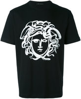 Versace painted Medusa t-shirt - men - Cotton - XS