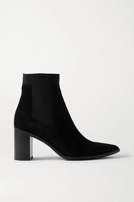 Rag & Bone Brynn Suede Ankle Boots - Black