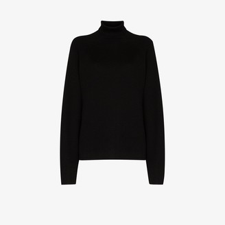 Carcel Milano turtleneck alpaca wool sweater