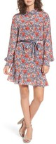 Juicy Couture Women's Larchmont Blooms Silk Shirtdress