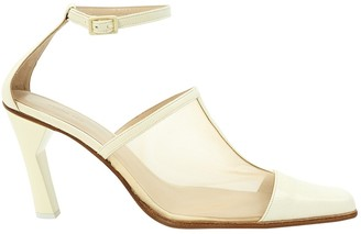 REJINA PYO White Leather Heels