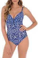 Miraclesuit R) Majorca Pin-Up One-Piece Swimsuit