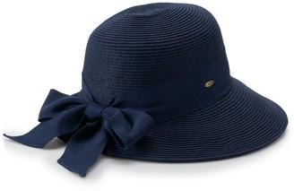 Scala Women's Bow Facesaver Sun Hat