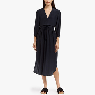 James Perse Silk Charmeuse Dress