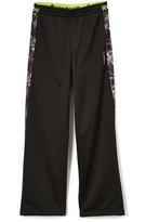 Reebok Black & Smoky Warm-Up Pants - Boys