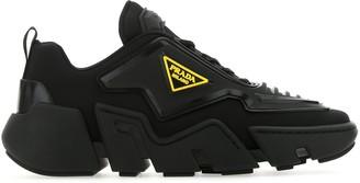 Prada Techno Stretch Sneakers