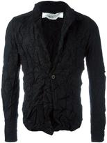 Individual Sentiments creased effect blazer