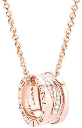 Bvlgari White Gold and Diamond B.zero1 Necklace