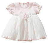 Edgehill Collection Baby Girls Newborn-6 Months Dressy Bodysuit