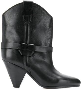 Isabel Marant cone heel cowboy boot