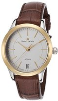 Maurice Lacroix Lc6016-Ys101-130 Women's Les Classiques Auto Brown Genuine Leather -Tone Dial Watch