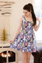 Retrolicious Nutcracker Skater Dress