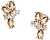 St. John Swarovski Crystal Cluster Earring