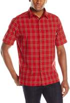 Woolrich Men's Amble Wood Short Sleeve Shirt