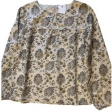 Bonpoint Ecru Cotton Top for Women
