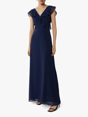 Warehouse Frill Detail Wrap Dress