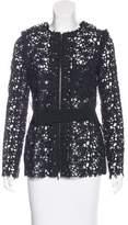 Lanvin Wool Floral Jacket