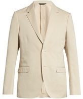 Calvin Klein Collection Single-breasted cotton and linen-blend blazer