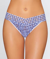 Hanky Panky Check Please Original Rise Thong