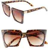 A. J. Morgan Women's A.j. Morgan Cropduster 52Mm Sunglasses - Black