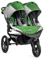 Baby Jogger SummitTM X3 Double Stroller in Green/Grey