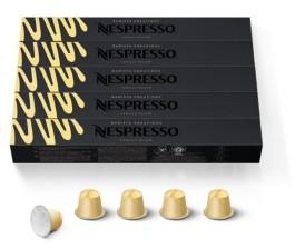 Nespresso Capsules OriginalLine, Vanilla Eclair, Mild Roast Espresso Coffee, 50-Count Espresso Pods