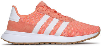 adidas Suede-trimmed Stretch-knit Sneakers
