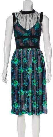 Christopher Kane Sleeveless Midi Dress