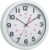 Acctim Controller Rc Wall Clock Wht