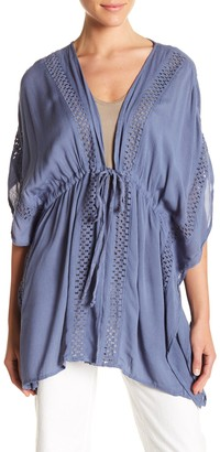 Elan International Crochet Cover-Up Tunic
