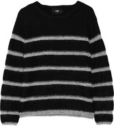 Line Beaufort striped intarsia-knit sweater