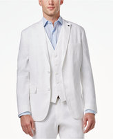 INC International Concepts Men's Slim-Fit Stretch Linen Blazer, Only at Macy's