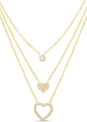 Lesa Michele Triple Layer Necklace