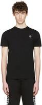 McQ by Alexander McQueen Black Rubberized Logo T-Shirt