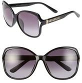 Jimmy Choo 'Patty' 61mm Oversized Sunglasses