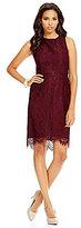 Katherine Kelly Babette Lace Sheath Dress
