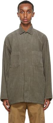 Nanamica Green Corduroy Shirt