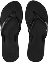 Reef Cushion Luna (Black Patent) Women's Sandals