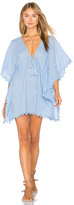Seafolly Crochet Trim Caftan