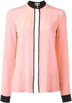 Kenzo colour block blouse