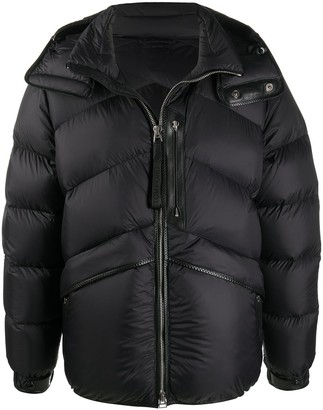 Tom Ford Hooded Padded Down Jacket