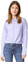 Nili Lotan Stripe Poplin NL Shirt